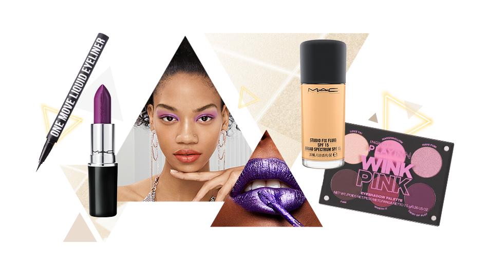 Makijaż inspirowany stylem disco